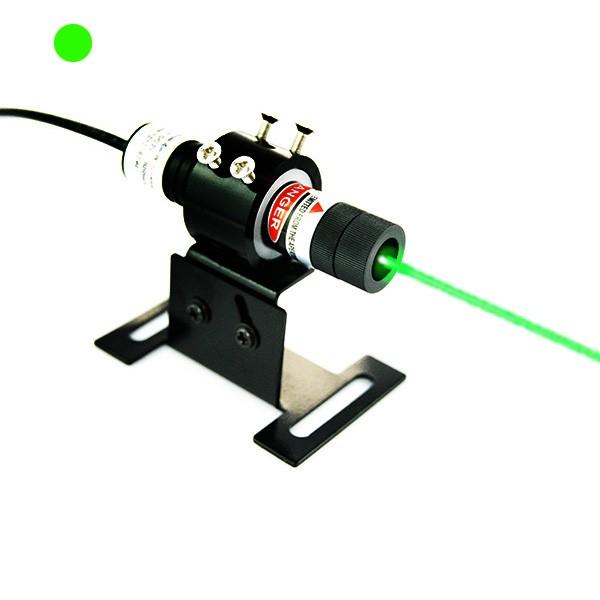 532nm green dot laser alignment