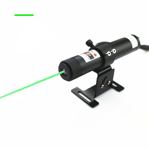 200mW high power green line laser alignment