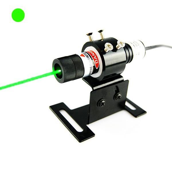 515nm green dot laser alignment